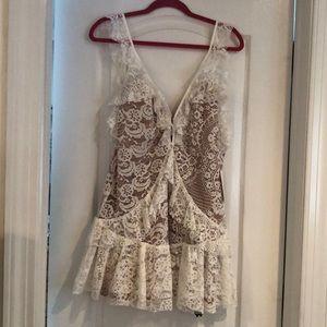 For Love & Lemons bloom lace dress